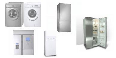 Appliance repairs: washing machines, fridges, freezers, tumble dryers, dishwashers, ovens and stoves.